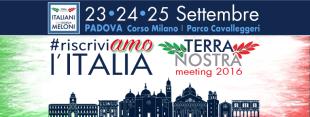 """La lettera. La missione del meeting """"RiscriviAmo l'Italia"""" di Terra Nostra"""