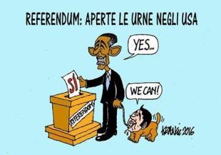 Interferenze Usa nel referendum italiano sulla riforma costituzionale