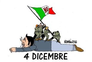 La Caporetto di Renzi vista da Alfio Krancic