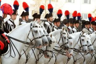 Carabinieri a cavallo (Foto di Saverio de Giglio)