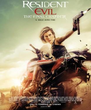 """Cinema. """"Resident Evil: The Final Chapter"""" divertissement per appassionati della saga"""