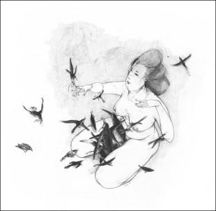 """Libri. Tratti di """"Seta"""" con le parole di Baricco e i disegni di Dautremer"""