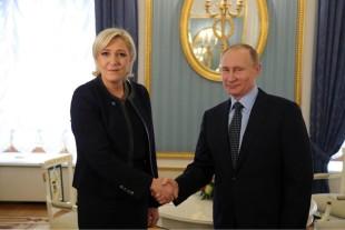 """Esteri. Marine Le Pen ricevuta da Putin: """"Alleanza contro il terrorismo"""""""