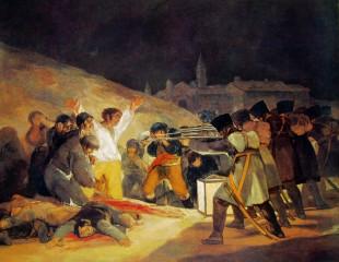 """""""Fucilazione alla montagna del Principe Pio"""" Francisco Goya."""