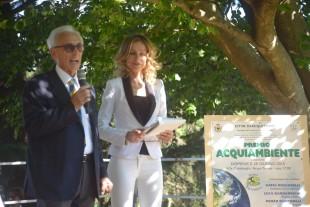 Carlo Sburlati e Antonia Varini all'ultima edizione dell'Acqui Ambiente (143)
