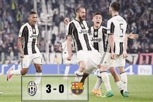 Champions. La Juve degli Argonauti asfalta il Barça e Dybala surclassa Messi