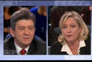 """Francia. Le Pen agli elettori della sinistra di Melanchon: """"Insieme contro l'oligarca Macron"""""""