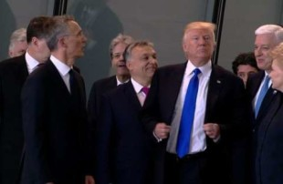 Tarantelle. Trump il bullo, un arci-americano a Taormina