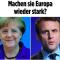 Esteri. L'asse Merkel-Macron tra austerità e protagonismo internazionale guerrafondaio