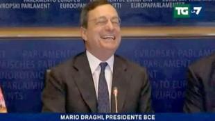 """Il caso. Il monito di Draghi (Bce): """"L'euro è irreversibile"""""""