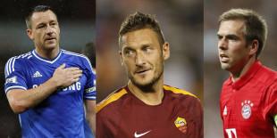 Calcio. Se gli addii di Lahm, Terry e Totti ci fanno sentire (tutti) più vecchi