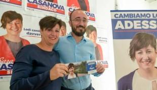 Lodi. Sara Casanova e Lorenzo Maggi