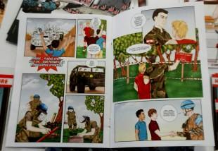 Esteri. Mine antiuomo: il fumetto dei soldati italiani che aiuta i giovani libanesi e non solo