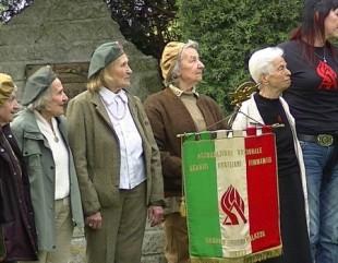 L'ausiliaria Fiorenza ad una manifestazione commemorativa