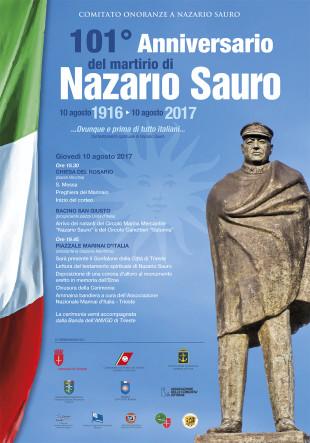 Manifesti nazario sauro 2017