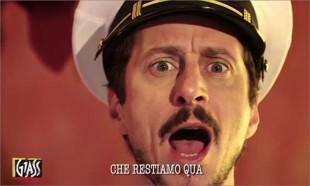 Luca Bizzarri quando imitava in un siparietto di cattivo gusto i marò