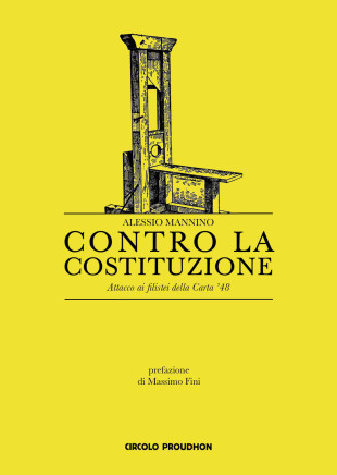 """Libri. """"Contro la Costituzione"""" di Mannino e la sfida al totem del '48"""