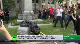Il caso. Giù la statua confederata, la dignità dei vinti vale meno di quella di un cane