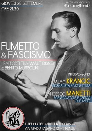 Eventi. Fra Disney e Mussolini, Lealtà Azione parla di fumetti e fascismo
