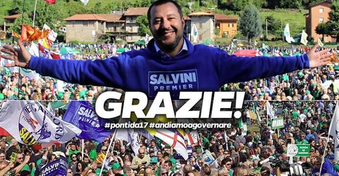 Salvini torna a Lecce: proposta federalista agli elettori di centrodestra