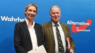 I leader dell'AfD Alice Weidel e Alexander Gauland