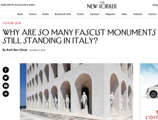 L'articolo sul New Yorker