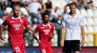 Calcio#SerieB. Pro Vercelli-Bari 2-2: vittoria sfumata per i pugliesi con un super Galano