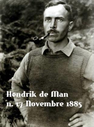 Effemeridi. Hendrik De Man e il socialismo che guardava alla nazione in Belgio