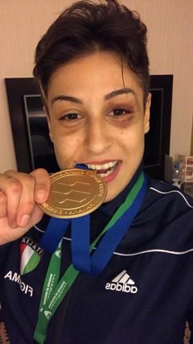 L'intervista. Fabiana Giampà tinge d'azzurro il mondiale femminile di MMA