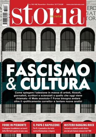 """Lo scandalo della """"cultura fascista"""" su """"Storia in Rete"""" in edicola"""