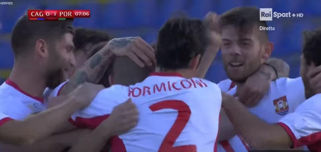 Coppa Italia. Impresa del Pordenone, battuto il Cagliari: si vola al Meazza  Barbadillo