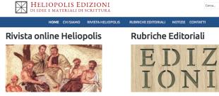 Cultura. Arriva la rivista online Heliopolis, erede di Letteratura-Tradizione