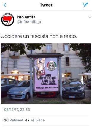 """Il caso. Se gli antifa invitano ad """"appendere"""" Nina Moric"""