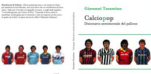 Il Calciopop, la copertina del libro di Tarantino