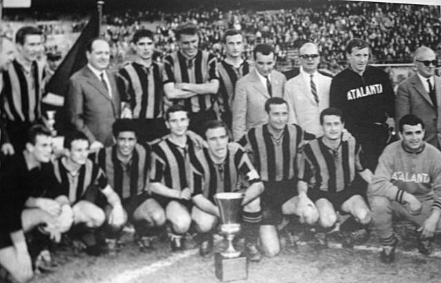 Atalanta saat juara Coppa Italia
