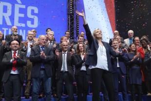 Marine Le Pen, alla fine del congresso nazionale del FN