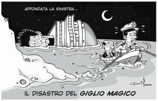 Politica (di A. Di Mauro). Il disastro della sinistra, alle urne il naufragio del Giglio (magico)