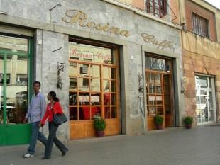 Italian coffee in Asmara