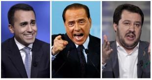 Di Maio-Berlusconi-Salvini