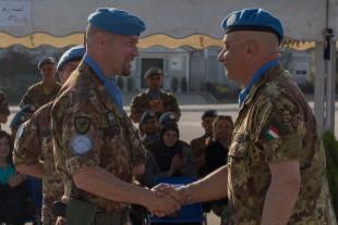 """Difesa. Unifil: a base """"Millevoi"""" cambio della guardia nel Combat Support Battalion"""