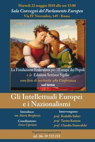L'incontro. A Roma Tarmo Kuunas a confronto sui nazionalismi in Europa