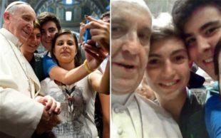 Il caso. Se (prima di Salvini) è stato Papa Francesco a sdoganare i selfie in chiesa