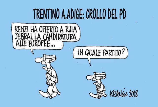 Nuova vignetta del nostro Alfio Krancic, disegnatore anticonformista
