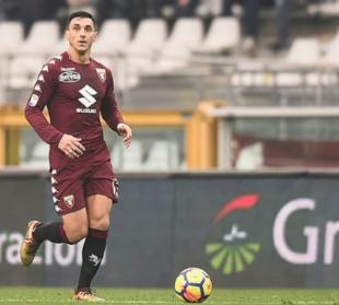 Nicolas Burdisso, calciatore argentino,  con la maglia del Torino