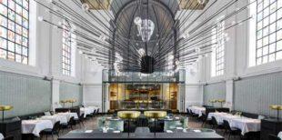 Una ex chiesa belga trasformata in ristorante