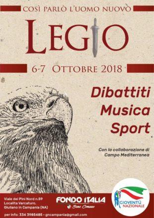 A Napoli ritorna Legio: due giorni di idee, musica, sport e cultura