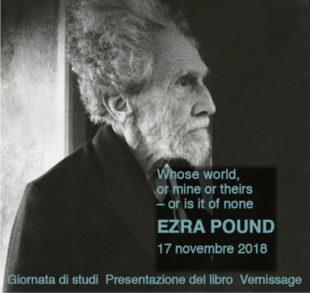 Ezra Pound. Il 17 novembre il convegno di studi a Merano