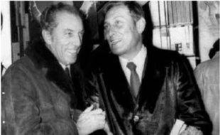 Giuseppe Berto e Francesco Grisi, fondatore del Libero sindacato scrittori