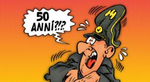 Fumetti. A Bologna la mostra Sturmtruppen 50 anni:omaggio al genio di Bonvi