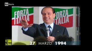 Silvio Berlusconi nel 1994